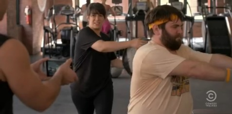 Comedy-Central-Broad-City-Abbi-Jacobson-and-John-Gemberling-as-Abbi-and-Bevers