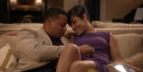 Fox-Empire-Terrence-Howard-and-Grace-Gealey-as-Lucious-and-Anika2